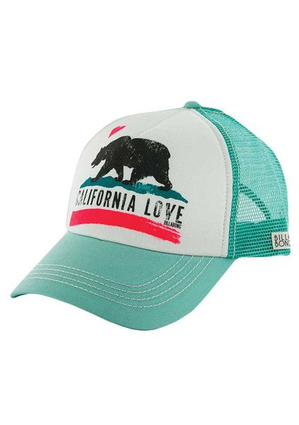 The Girl and The Water - Billabong - Pitstop Trucker Hat / Honey Do - $18