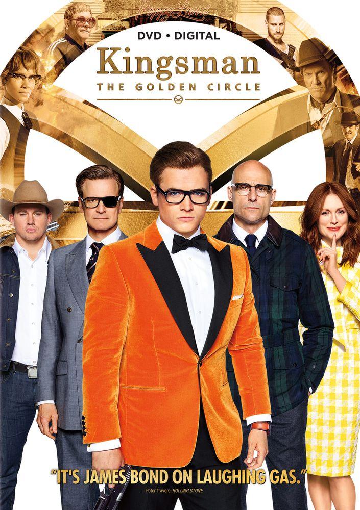 Kingsman The Golden Circle Dvd 2017 Best Buy Kingsman The Golden Circle Circle Movie Kingsman Movie