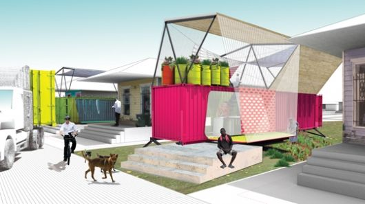 The SEED Project is developing a way to provide sustainable emergency housing in disaster affected areas using shipping containers.