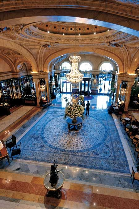 Hotel De Paris - Monte Carlo, Monaco Stayed here for the Grand Prix - Amazing Luxury Hotel Interior Designs #hotelinteriordesings