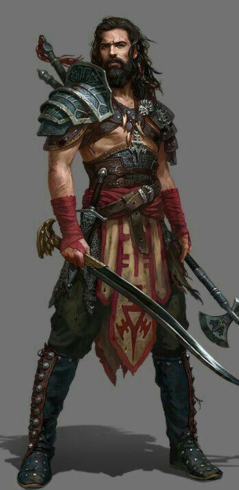 Barbarian fighter warrior