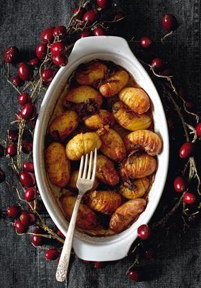 Πατάτες γιορτινές ψητές στον φούρνο