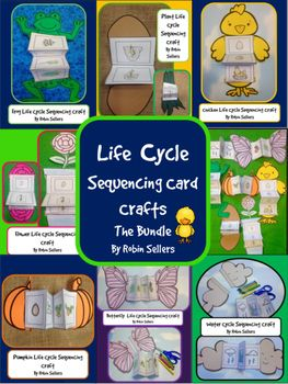 Life Cycles* {Life Cycle Sequencing Card Craft Bundle - Sp  -  $$  Get This