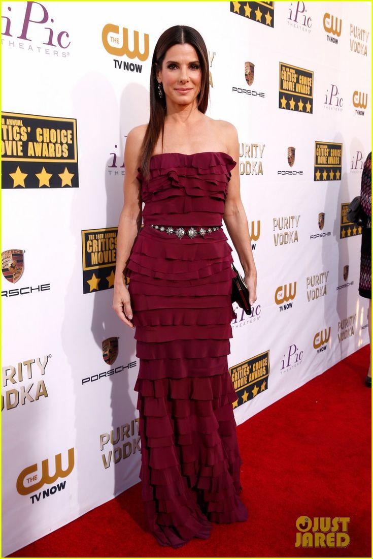 Sandra Bullock - Critics' Choice Movie Awards 2014 Red Carpet | sandra bullock critics choice awards 2014 red carpet 01 - Photo