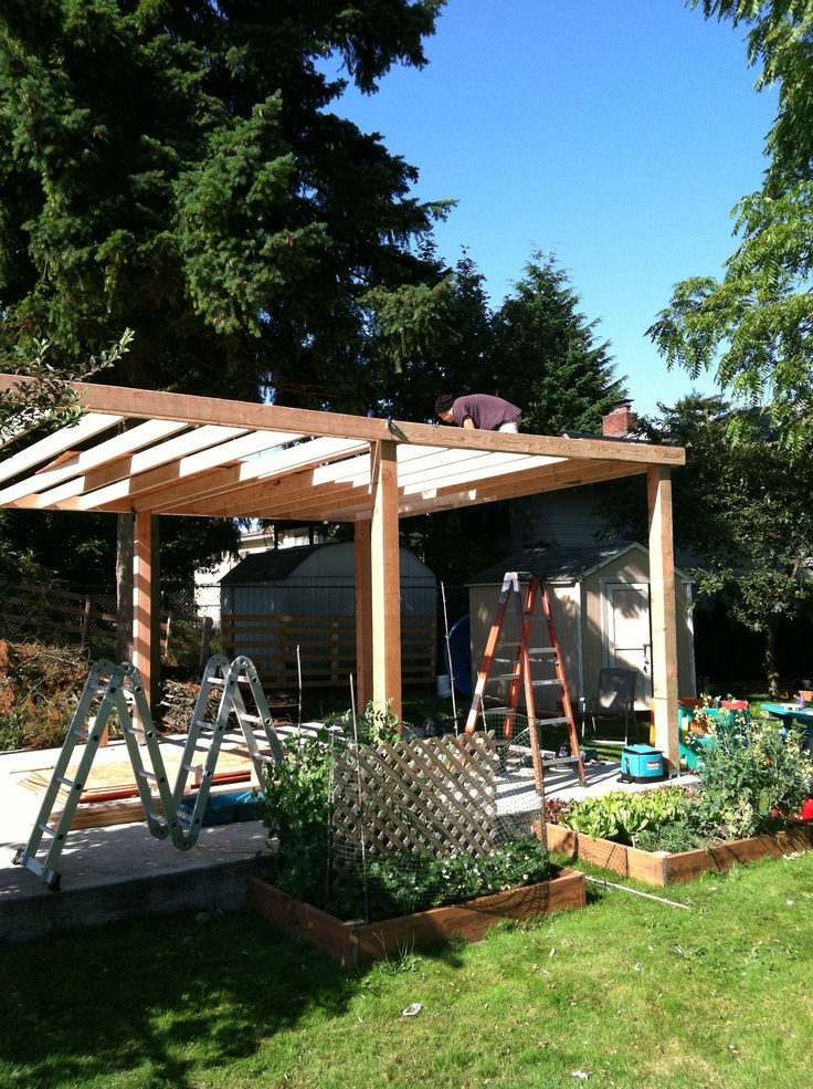 1000 Images About Wooden Pergolas Carports On Pinterest