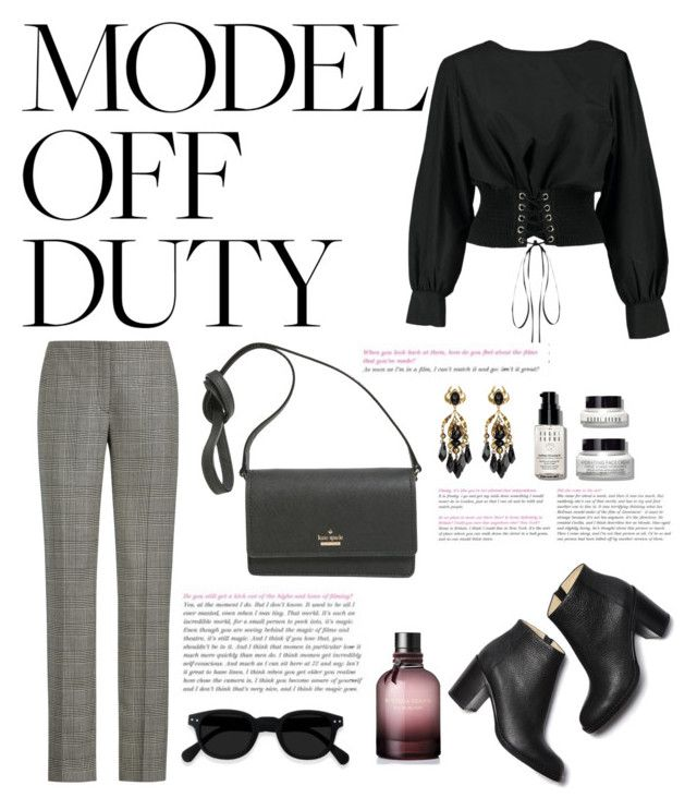 """Off duty"" by tiwik on Polyvore featuring Boohoo, Ralph Lauren, Kate Spade, Gucci, Bottega Veneta and Bobbi Brown Cosmetics"