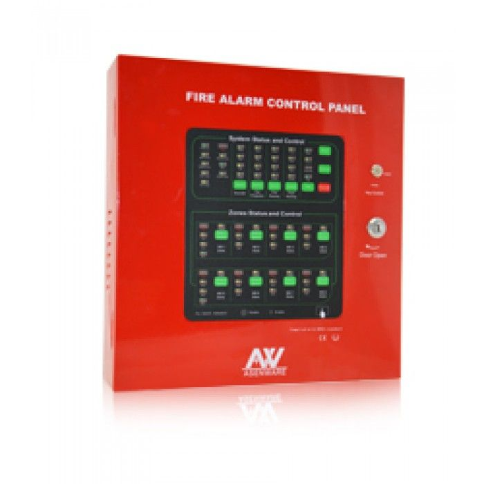 8 Zone Fire Alarm Control Panel