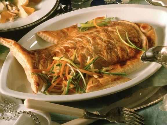 Viktoriabarsch in Blätterteig ist ein Rezept mit frischen Zutaten aus der Kategorie Meerwasserfisch. Probieren Sie dieses und weitere Rezepte von EAT SMARTER!