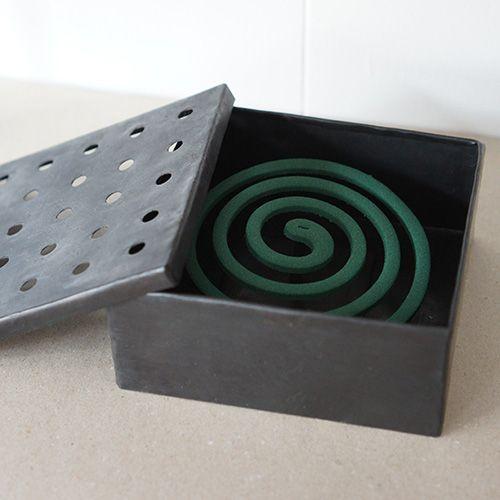 鉄製蚊取り線香入れ steel case for mosquito coil
