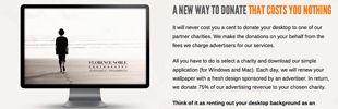Donate your Desktop | creativity-online.com