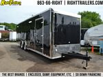"Vintage Outlaw—Black Race Car Trailer for Sale in TAMPA, FL #race #car #quotes http://corpus-christi.remmont.com/vintage-outlaw-black-race-car-trailer-for-sale-in-tampa-fl-race-car-quotes/  Main Menu For Sale: 8.5×32—Vintage Outlaw—Black Race Car Trailer Description ATP Ramp door and beavertail Rubber coin flooring Four D-rings installed Roof vent wired and braced for A/C Triple 5200 pound Dexter axles Black cabinet package 15"" Tredit tires 36"" x 30"" Generator door with vent 48' Side door…"
