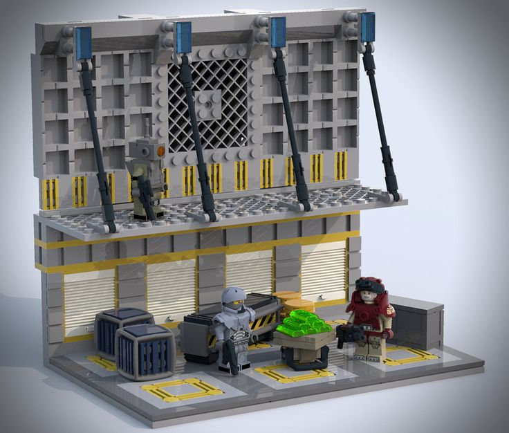 Warehouse | Legos, Lego spaceship and Lego furniture