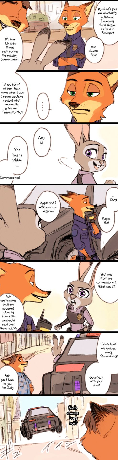 "Jealous Nick. part 2 | gallorefield: "" By ゆづきち @ydk1226 Source Someone translate it on 4chan"