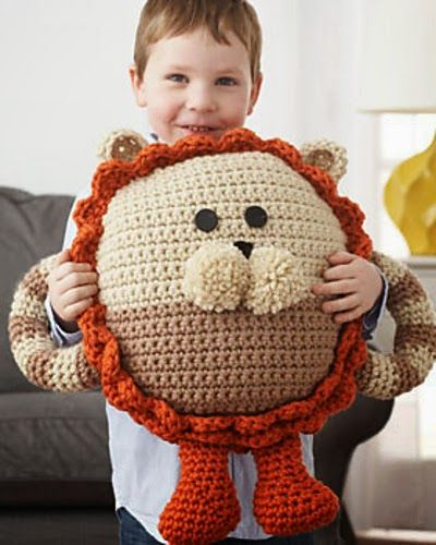 Happiness Crafty: Crochet Pillows ~ 15 FREE Patterns