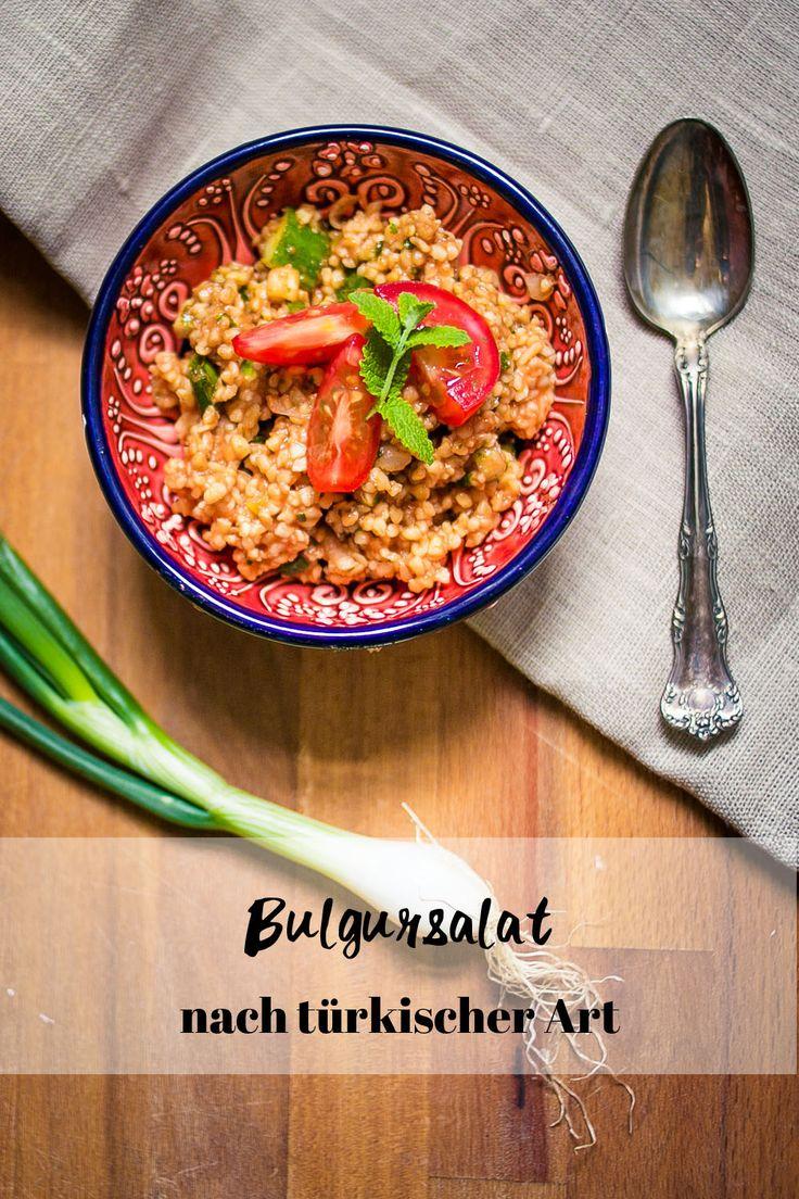 Türkischer Bulgursalat Rezept I Salat I Grillrezepte I Picknick