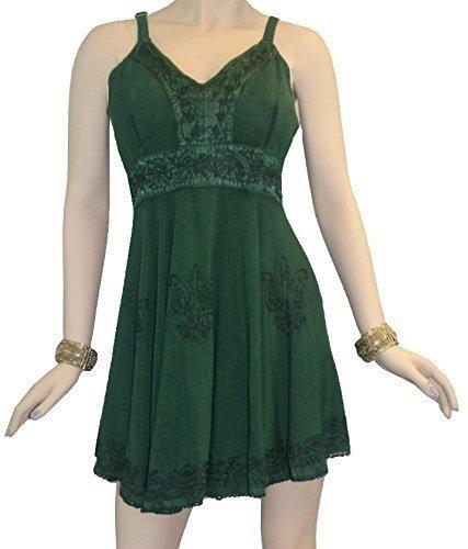 Gypsy Medieval Rayon Summer Tunic Dress