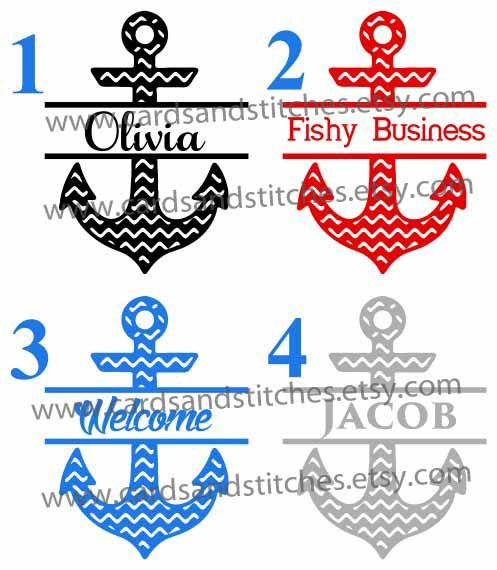 Best Babies And Kids Vinyl Decals And Ironon Transfers Images - Anchor custom vinyl decals for car