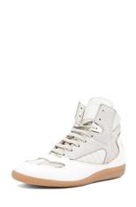 Maison Martin Margiela  Hi Top Sneaker in White