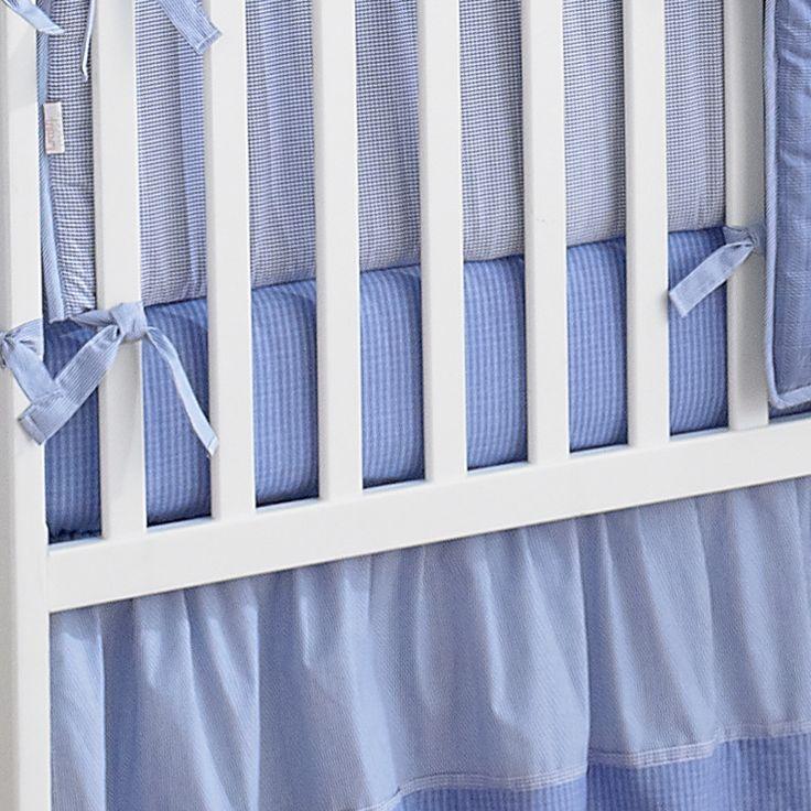Sailing Days Cotton Crib Sheet