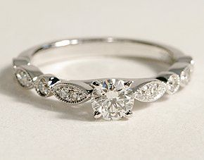 """Might be too """"tiny and thin"""" but so dainty & pretty with a bit of a vintage touch"""