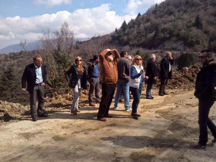 Επίσκεψη στελεχών του ΣΥΡΙΖΑ Ιωαννίνων σε χωριά του Δήμου Δωδώνης