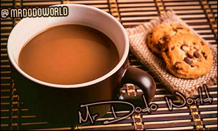 Coffee and Cookies #coffee #cookies #coffeebreak #mug #cup