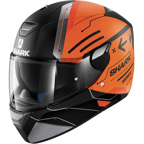 Shark-Skwal-Warhen-LED-Lights-Motorcycle-Helmet-Matt-Black-Orange