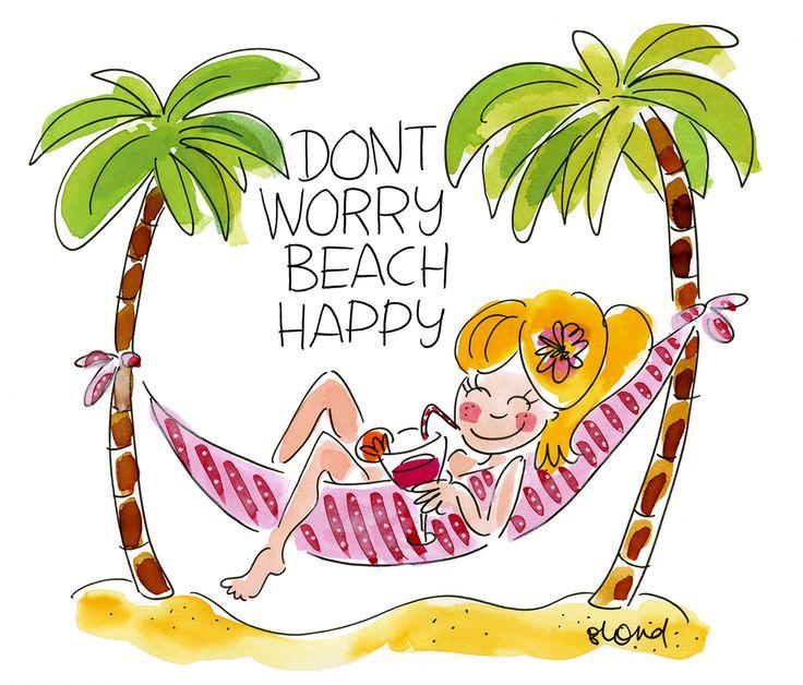 Don't worry beach happy! Blond-Amsterdam