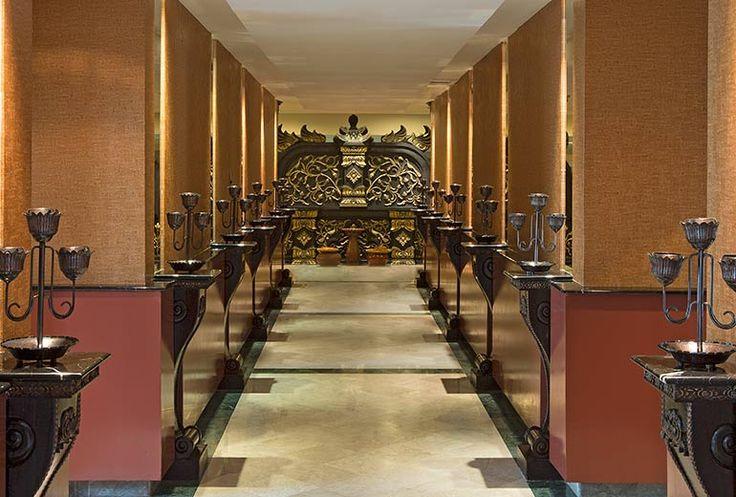 The Hallway of Taman Sari Royal Heritage Spa