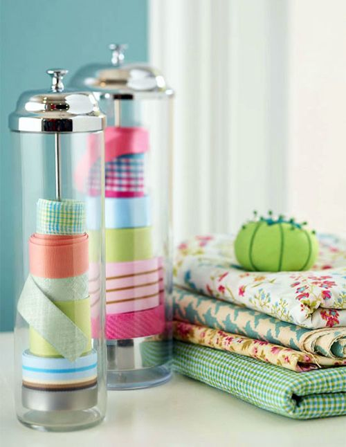 Sewing Secrets: 10 ways to Organize Your Sewing Room -- Great ideas!!