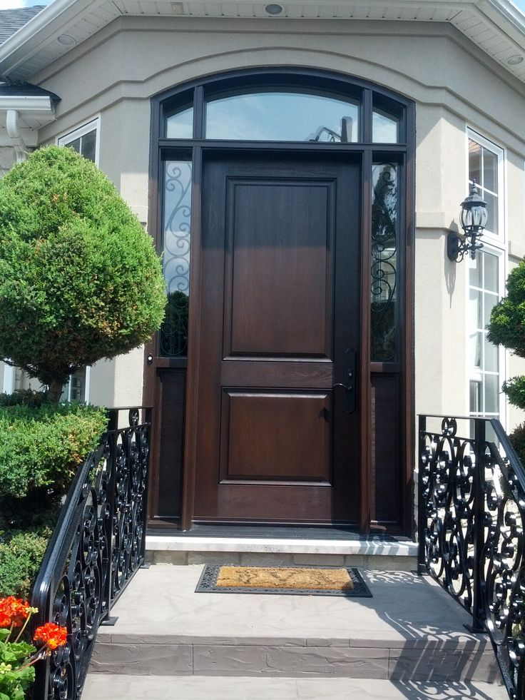 17 best images about recent projects on pinterest arches for Fiberglass entrance doors