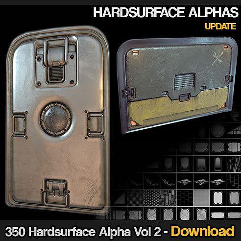 350 Hard surface sci fi Alpha/Height VOL 2 [UPDATE02], Jonas Ronnegard on…