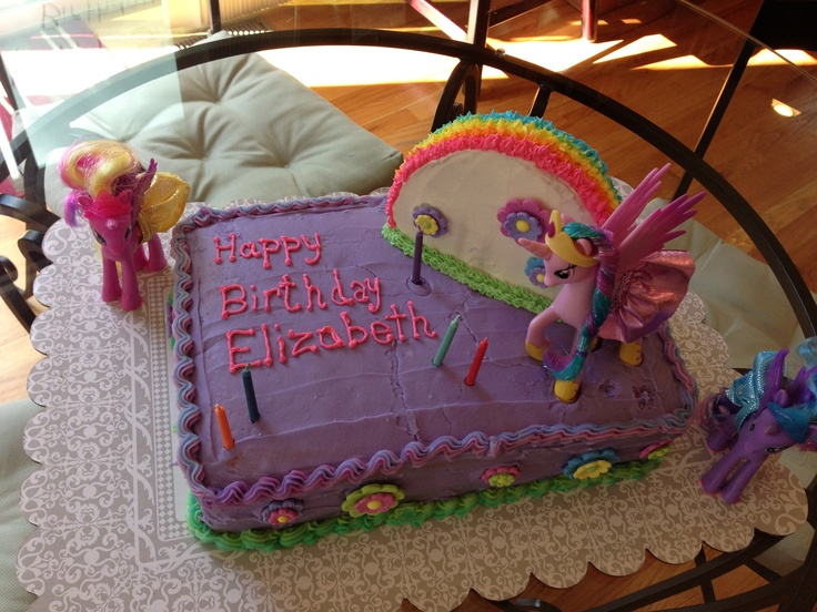 17 Best Cakes Images On Pinterest My Little Pony Cake