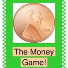 """""""THE MONEY GAME"""" - LEARN ABOUT MONEY THE ACTIVE WAY!  This might be the most fun you ever had with One Dollar!  Play a funny GROUP GAME about a 'shopping experience' where One Dollar gets spent-- in all its various combinations!  Your kids will even HEAR what money sounds like, for Multi-Sensory learning!  You'll do great 'moves', for One-To-One Correspondence as you count!  Math can be ACTIVE learning!  And the cost to you?  ONE DOLLAR, to thank all of my great friends on TpT and Pinterest…"""
