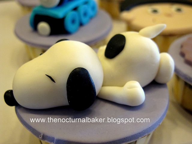 Snoopy by The Nocturnal Baker