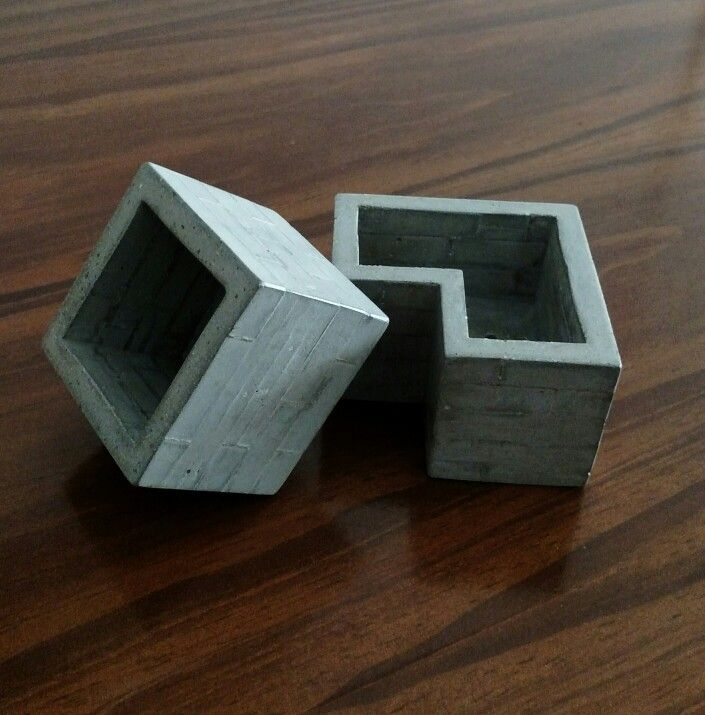 #macetas #cemento tetris #palermo