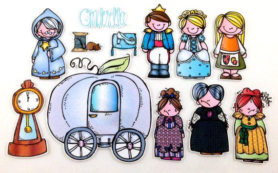 Cinderella Felt Board Story Set by byMaree on Etsy, $20.00