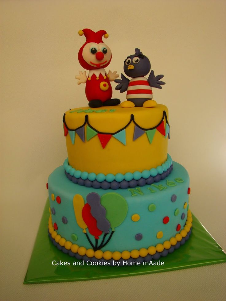 Cakes and Cookies by Home mAade: Jokie en Jet taart