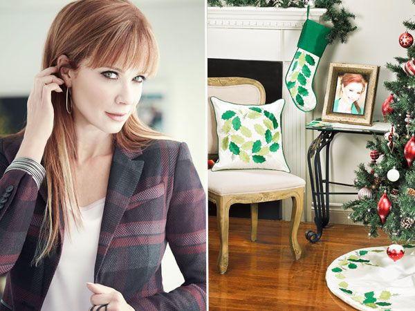 Lauren Holly On Her Career Travel and Her New Collections