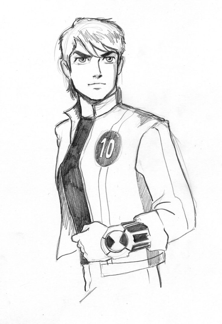 Fan Art of Ben 2 for fans of Ben 10: Alien Force.
