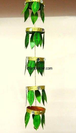 Paper Cup Diwali Decor - Kids Craft • Art Platter