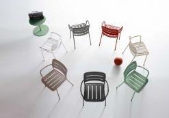 KETTAL VILLAGE - Dining armchair #jaspermorrison #jasper #morrison #design #outdoor #new
