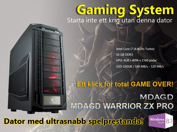 MDAGD - Gaming - WARRIOR ZX PRO