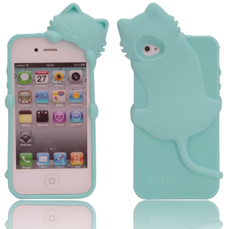 Because you're not a real crazy cat lady without a cat phone case!