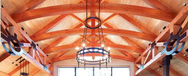 This Timberworks King Post Truss variation has a curved Tie-Beam which can…