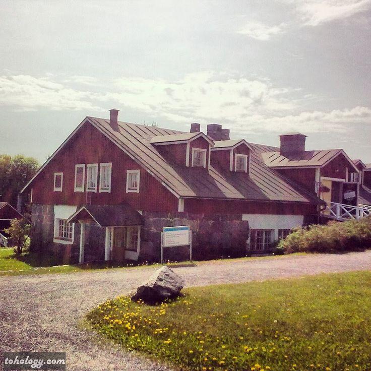 Shop-museum in Kenkävero (Finland)
