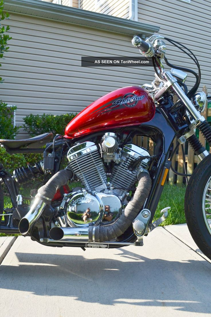 Honda Shadow 2007 Vlx600c Bobber Full Customized Shadow photo 4