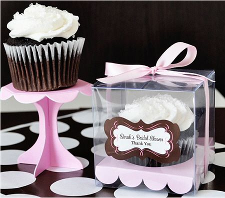 Personalized Cupcake Boxes - DIY Favors via Accent the Party