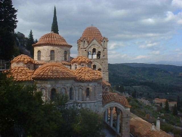 Mystras - Laconia Peloponnese Greece