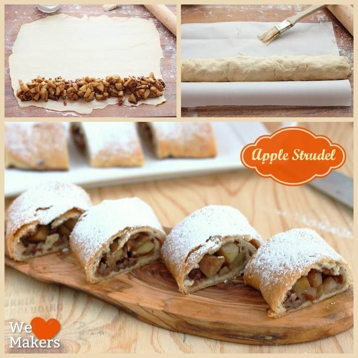 Apple Strudel How-To | Strudel, Photos and Apples